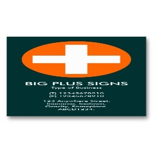 big_plus_signs_orange_dark_teal_green_business_card-p240429231914283759t58o_300