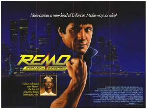 Remo-Williams-UK-Poster stupi--naw, in  Trinidad this is coax virginal