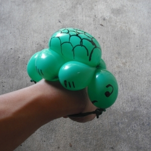balloons?  ah, they put their hands so phony so phony's turtle
