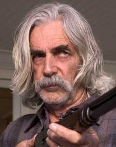 "Sam Elliot of San Diego, and don't say ""Doc'll in two""; expect to see something, is there a hero?"
