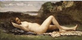 Camille Corot - Bacchante in a Landscape (1865-70)