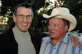 Leonard Nimoy and William Shatner  19th Annual Hollywood Charity Horse Show