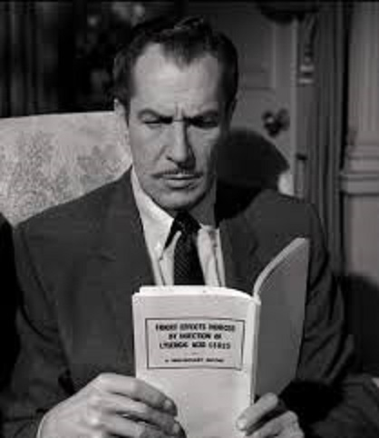 Vincent Price in The Tingler 1959 Not only was this William Castle movie the first to depict LSD use but it also employed more gimmicks than you can
