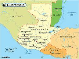 Guatemala Political Map