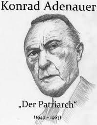 Konrad Adenauer by LenaStinke