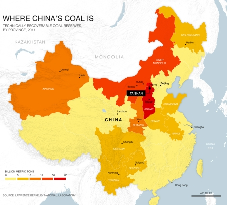 Ta Shan is touted as a new, environmentally friendlier model for the Chinese coal industry