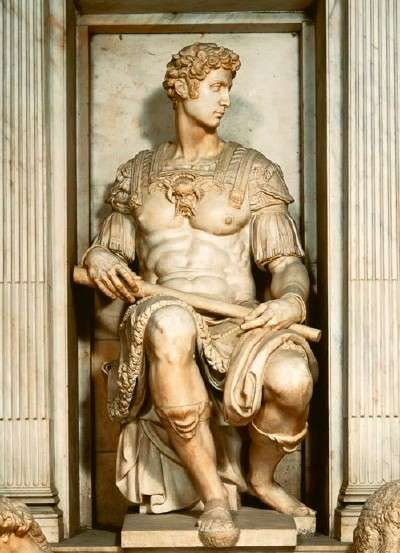 Michelangelo's Tomb of Giuliano de' Medici