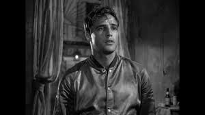 So many of Williams' men are these brutish hypersexual animals, and Marlon Brando looks and acts the part with such vivacity.