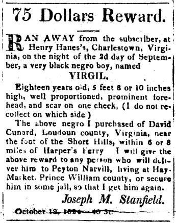 1824-10-18VirgilRunawaySlaveOfDavidCunard
