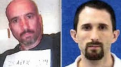 Officers accused of various charges related to the Silk Road investigation – Carl Mark Force IV (left) and Shaun Bridges (right)