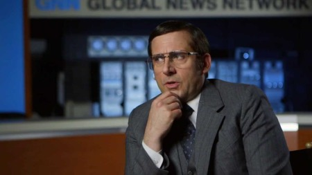 Anchorman 2 The Legend Continues Steve Carell Brick Tamland On Set Movie Interview