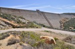 Olivenhain Dam, part of San Diego County Water Authority's Emergency Storage Project, creates a reservoir that can hold 24,000 acre-feet of water.