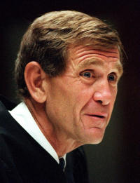 Judge David O. Carter was appointed to the federal bench by President Clinton in 1998.
