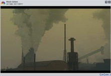 This video discusses how black carbon contributes to