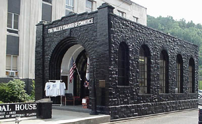 Tug Valley Chamber of Commerce (The Coal House).