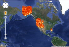 Say, you should listen. Take a couple minutes. You implied there is no fires in south america