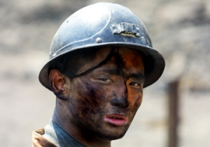 chinese_coalminer China's national safety administration reported that 5,986 workers died in the nation's coal mines ...