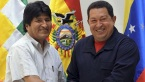 commandante chavez and evo