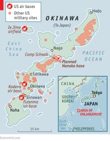 okinawas governor revoked permission again, no base, no vice, no snow key