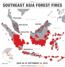 graphic-forestfire_map-heza__english Hot spots in southeast Asia yesterday according to Nasa's Earth Observing System Data and Information System
