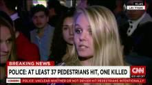 Vehicle runs down pedestrians in Las Vegas