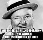APReadyForHillary to have WJC LLC moving cash around-Q-Not for you beggars. Not event sign.