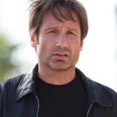 David Duchovny. Nobody wants him. down takes forever then mass resists acceleration.