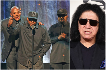 Modal Trigger N.W.A. puts Gene Simmons on blast at Hall of Fame ceremony
