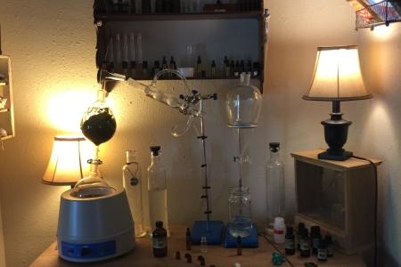 steam distillation for essential oils by stellar jae