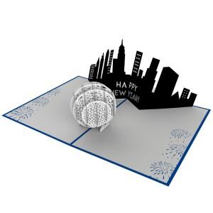NYE-ball-drop-3d-pop-up-new-years-card-lovepop-open