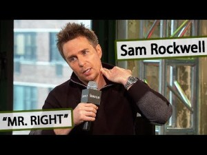 Sam Rockwell on MR. RIGHT Movie Interview voco April 8th, 2016