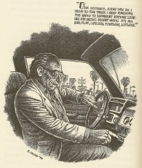 robert crumb bukowski take it down, you're gettin older, too.